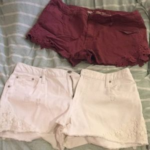 Pants - Two pairs of target shorts